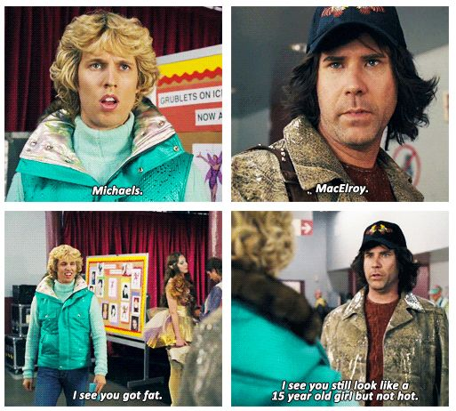 Blades of Glory starring Will Ferrell and Jon HederJon Heder And Will Ferrell