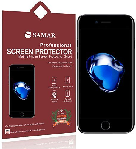 From 1.99 Samar - Supreme Quality New Apple Iphone 7 Plus Crystal Clear Screen Protectors {released September 2016} 6 In Pack - [5.5-inch Screen Display] - Includes Microfiber Cleaning Cloth