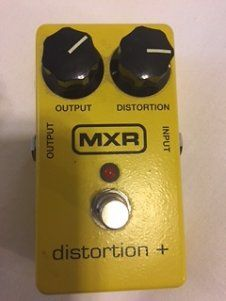 MXR Distortion + 2009 Yellow