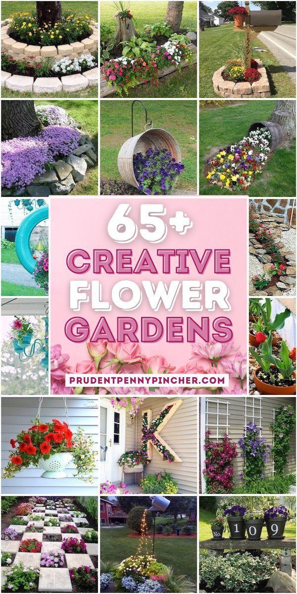65 Creative Diy Flower Garden Ideas In 2021 Beautiful Gardens Landscape Projects