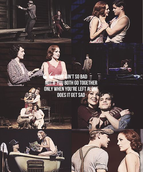 But a short and lovin' life... That ain't so bad. Bonnie and Clyde the Musical ❤❤
