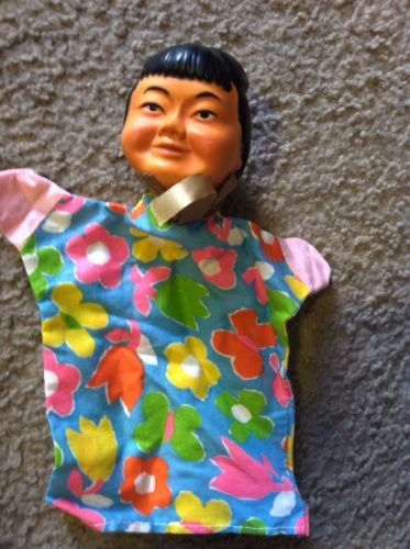Japanese 1960's Hand Puppet
