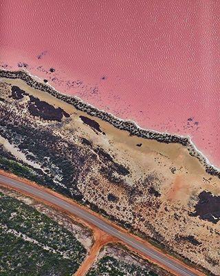 Pink Lake, Esperance WA