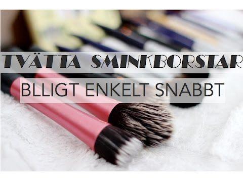 TVÄTTA SMINKBORSTAR BILLIGT, SNABBT OCH ENKELT!