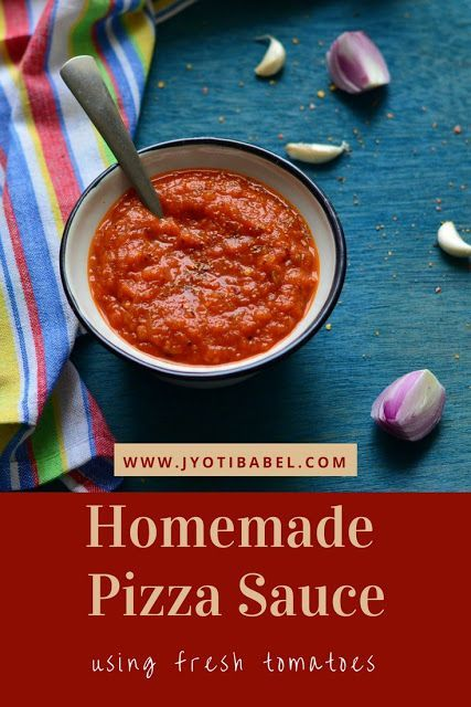 make your own pizza sauce using fresh tomatoes at home check out my