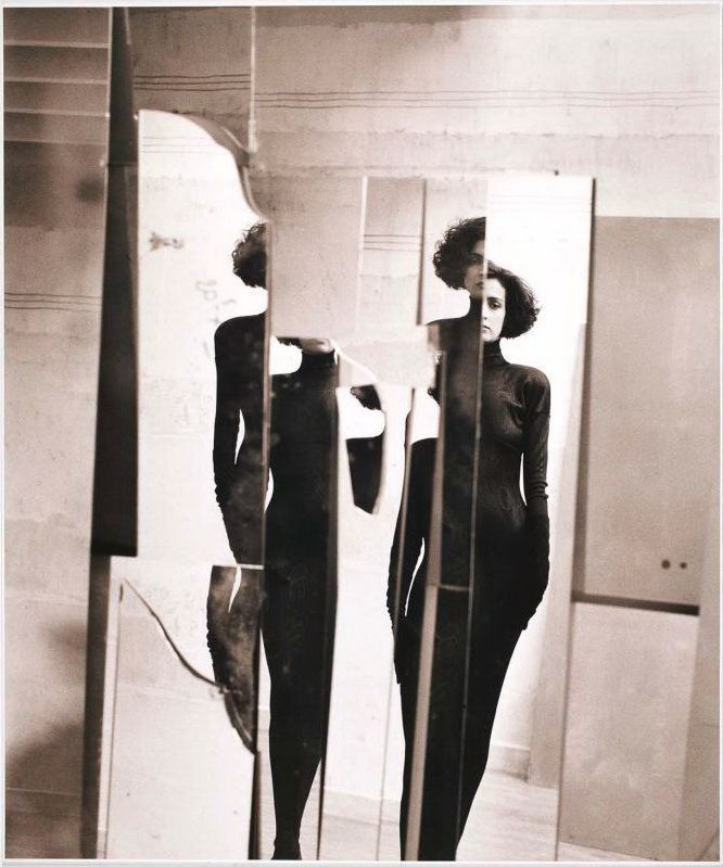 Betty Lago, Azzedine Alaia, 1986 byDavid Seidner[more]