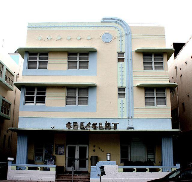 Crescent Hotel 1420 Ocean Drive South Beach Built 1938 Architect