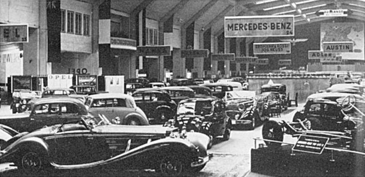 Berliner Automobil-Ausstellung 1936 (Mercedes-Benz)