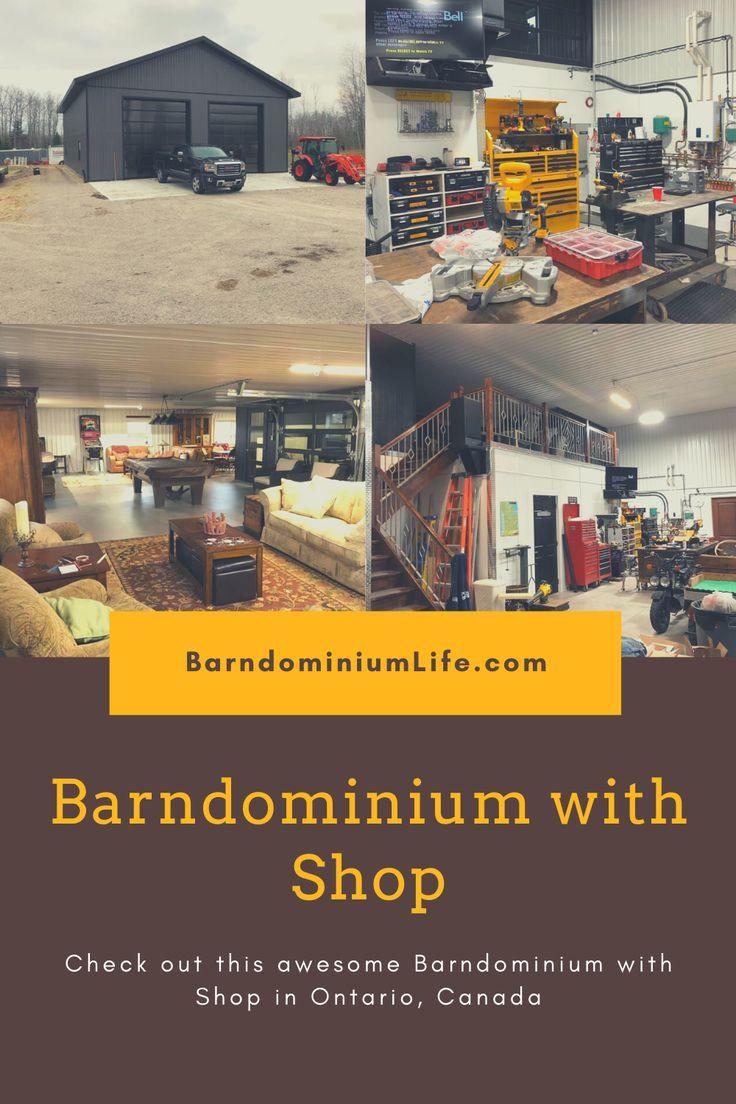 Pin on Barndominium with Shop