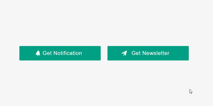 Push Notifications & Newsletter Signup Button to Form Animation