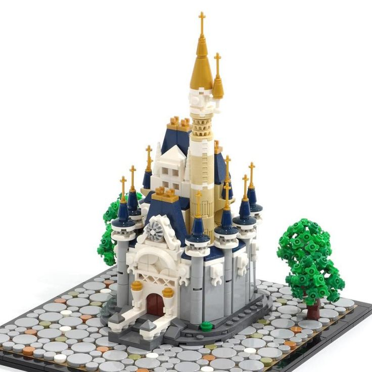 Tiny LEGO Disney Castle