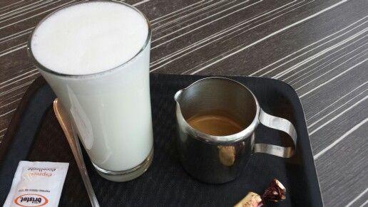 De doe het zelf latte.