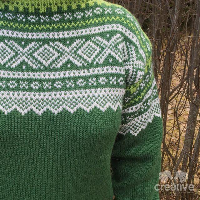 H♥BBYSYSLER: Mariusgenser i grønn (Søster'n strikker!)