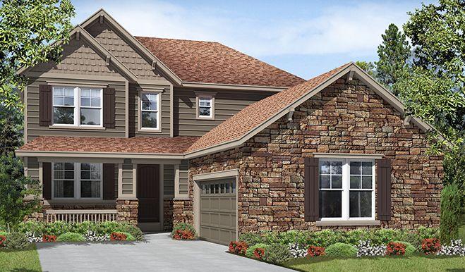richmond american homes new homes floor plans forward skylar d25a. Black Bedroom Furniture Sets. Home Design Ideas