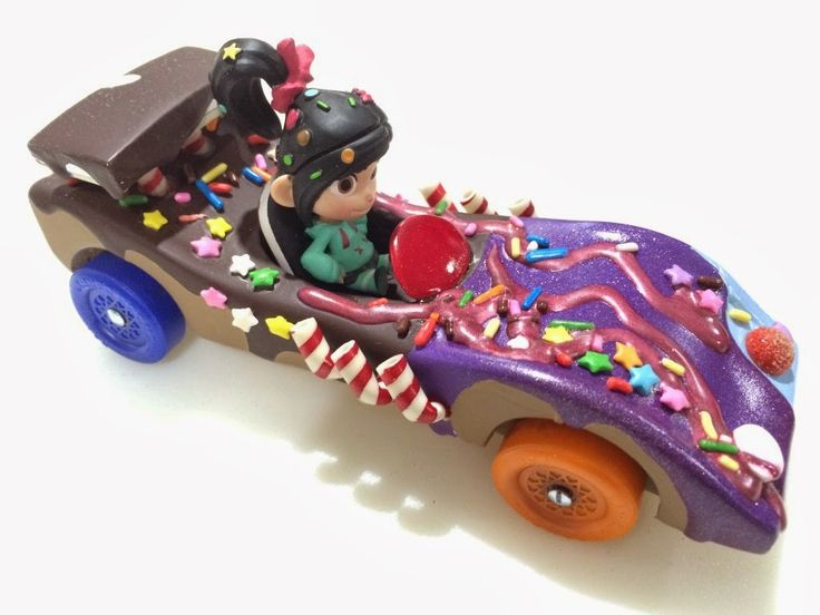 pinewood derby cars glitter - Google Search