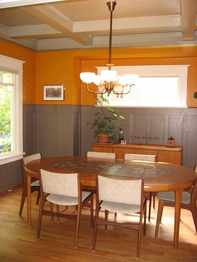 Sherry's Warm Orange Dining Room Room for Color - West #15 | Apartment Therapy