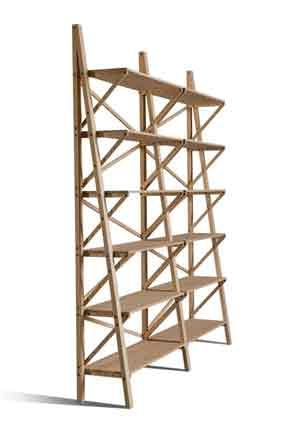 BALOCCO, Modular Bookcase In Solid Ash Wood. Winning Project At The 2011  Edition Of The