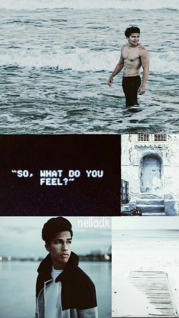 ¤So what do you feel?¤ Alex Aiono lockscreen.❤