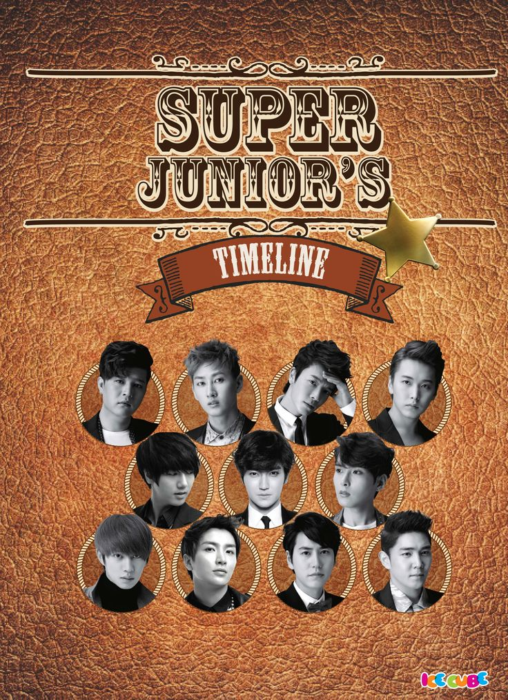 Super Junior Timeline