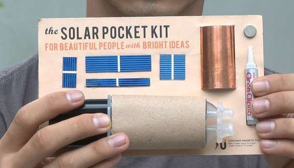 The Solar Pocket Factory is Tiny Idea That Shines Bright #eco trendhunter.com