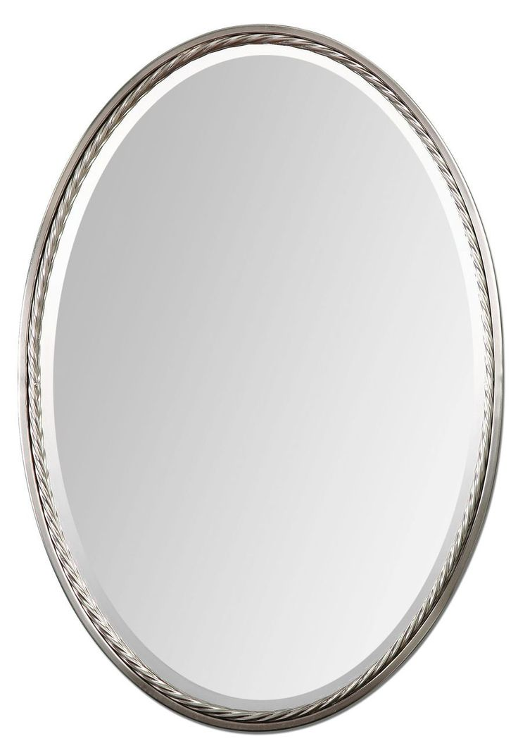 103 best mirrors for beach homes images on pinterest for Oval bathroom vanity mirrors