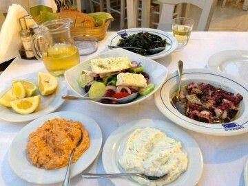 Spetses Patralis fish restaurant