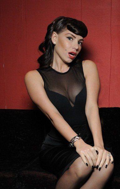 Model wearing Heartcuff bracelet.