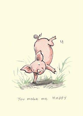 You Make Me Happy - Anita Jeram