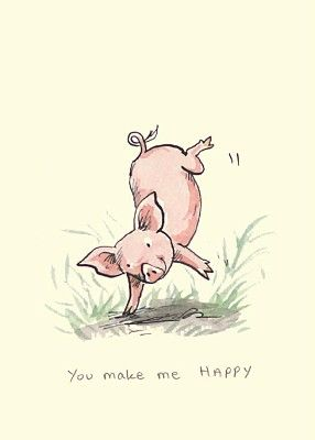 You Make Me Happy - Anita Jeram