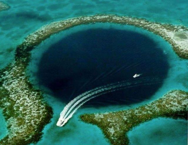 Great Hole-Ce bleu fosse océanique vaste qui attire Divers De Around The World - 3
