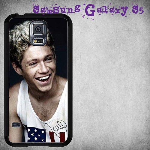 One Direction Niall Horan Signature Print On Hard Plastic For Samsung Galaxy S5 , Black Case  Description:  Create special case by using your favorite photos or thoughts to inspire and motivate you ev