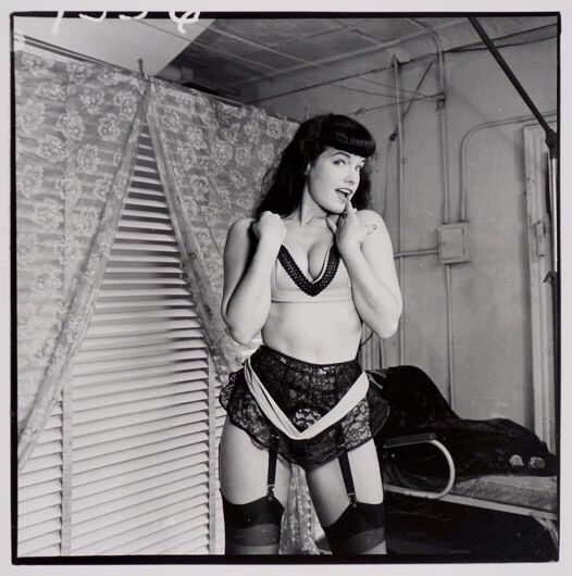 Bettie Page - Weegee