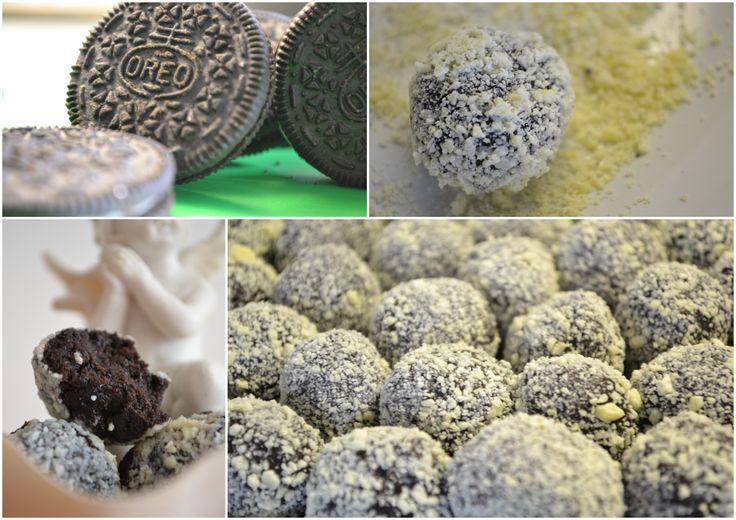 PRO ŠLAHÁČE: Oreo kuličky v bílé čokoládě :*