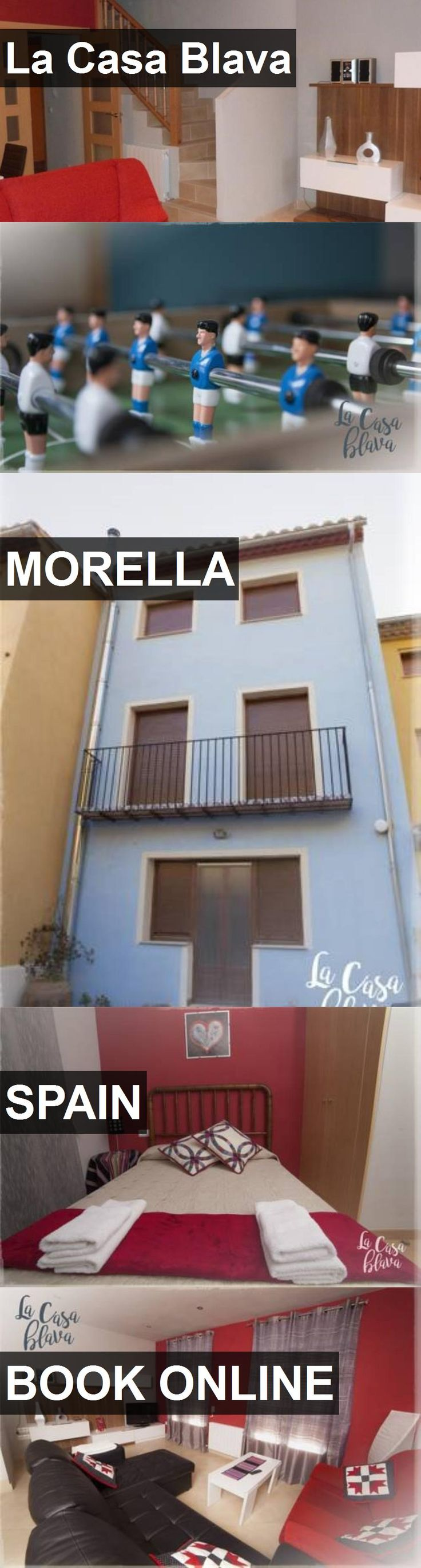 Hotel La Casa Blava in Morella, Spain. For more information, photos, reviews and best prices please follow the link. #Spain #Morella #travel #vacation #hotel