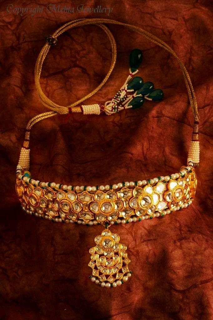 Kundan Kanti Weight 45 Gm By Dulhan Jewellers Pali Pushp