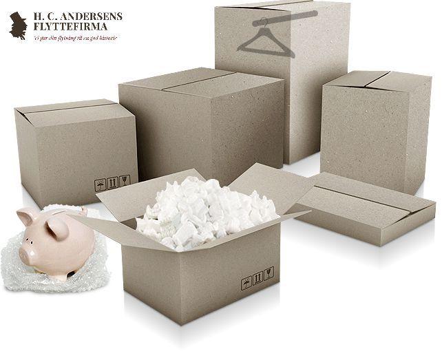Pakketip: Pak dine flyttekasser med de tungeste ting i bunden. Det siger næsten sig selv, men husk at tunge og skrøbelige genstande (glas osv.) bør pakkes hver for sig. Organiser dine ting ved at inddele dem i tunge versus skrøbelige ting inden du begynder din nedpakning.