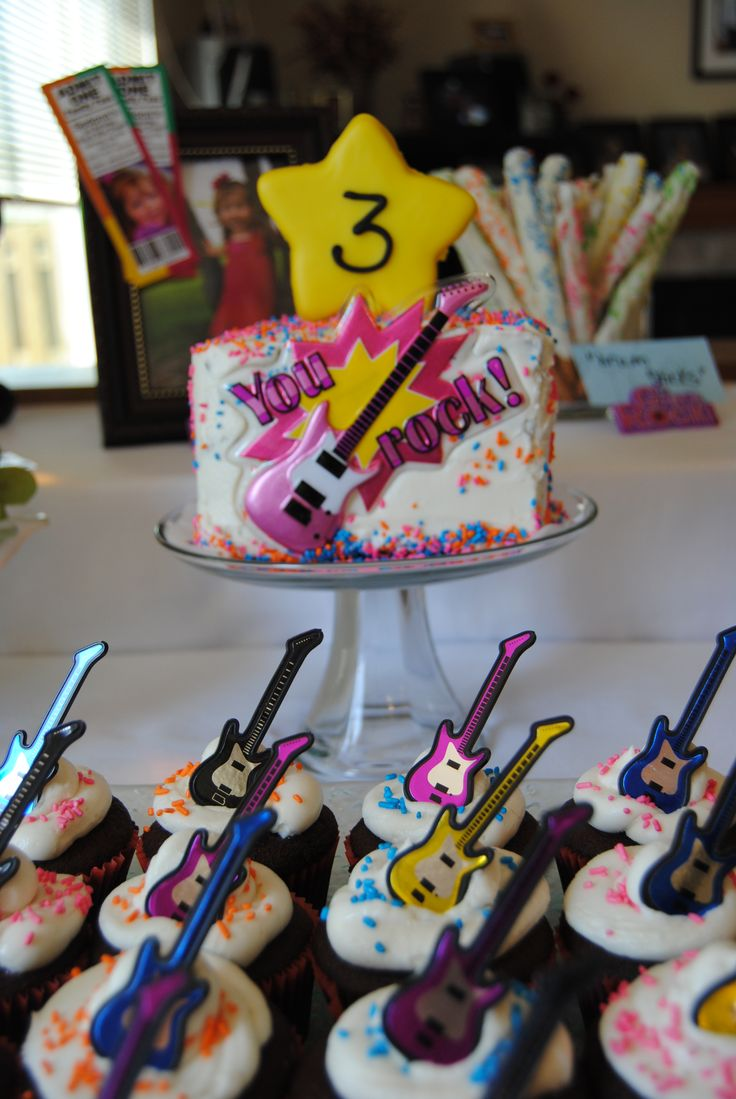 Children's ROCK STAR (Fresh Beat Band) Birthday Party! See more - order here too: https://www.facebook.com/media/set/?set=a.10151610467409817.1073741827.106597134816=3