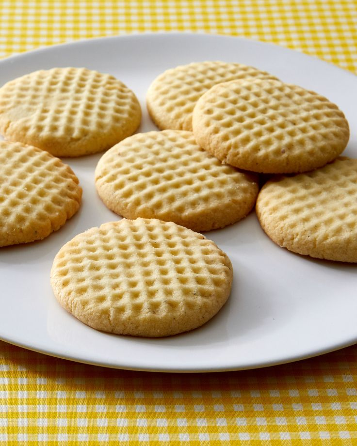 Iranian Rice Cookies Nan-e Berenji Recipe | Martha Stewart Living — Two classic Middle Eastern ingredients, rice flour and rose water, come together in these uniquely textured special-occasion cookies.
