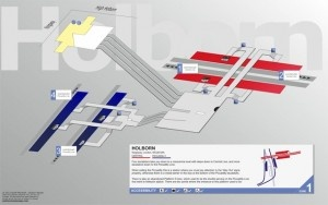 The Innards Of All Central London Tube Stations…Mapped