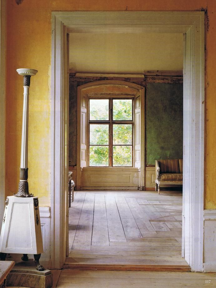 From a Swedish 1800 century manor house