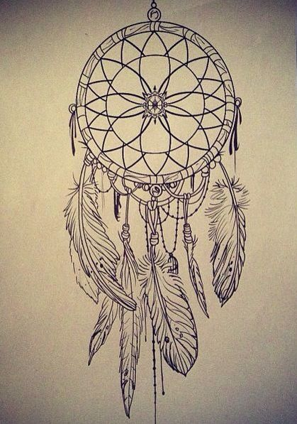 The dream catcher idea only instead of that stuff I want peacock feathers hanging on it held together with my fave rock beads an in the middle of the dream catcher I want a blue daisy