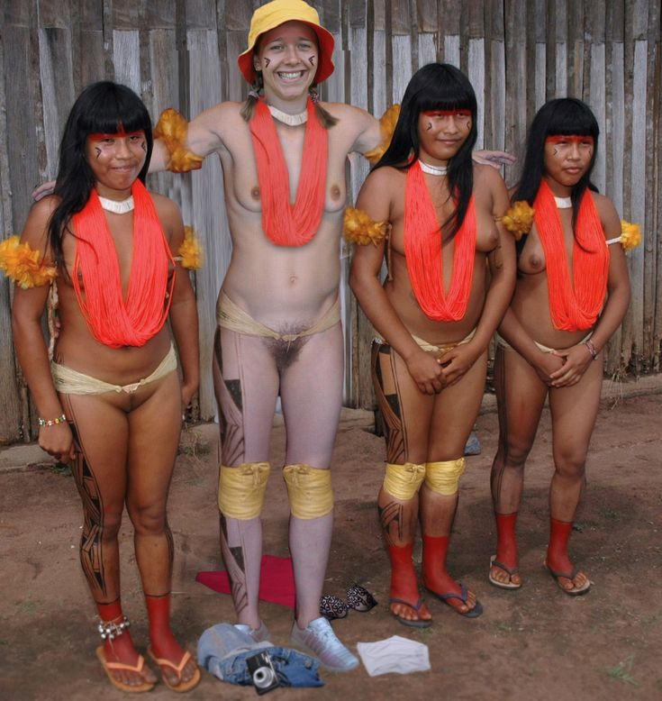 Junior african nude tribe girls