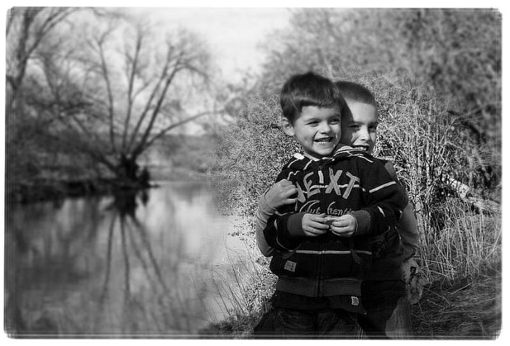 Love this pic of my gorgeous boys xx