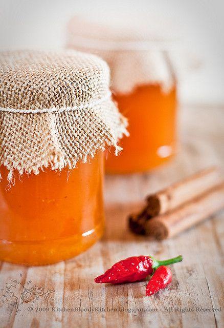 Marmellata di melone alla cannella e peperoncino-Melon jam with cinnamom and chili by Azabel, via Flickr