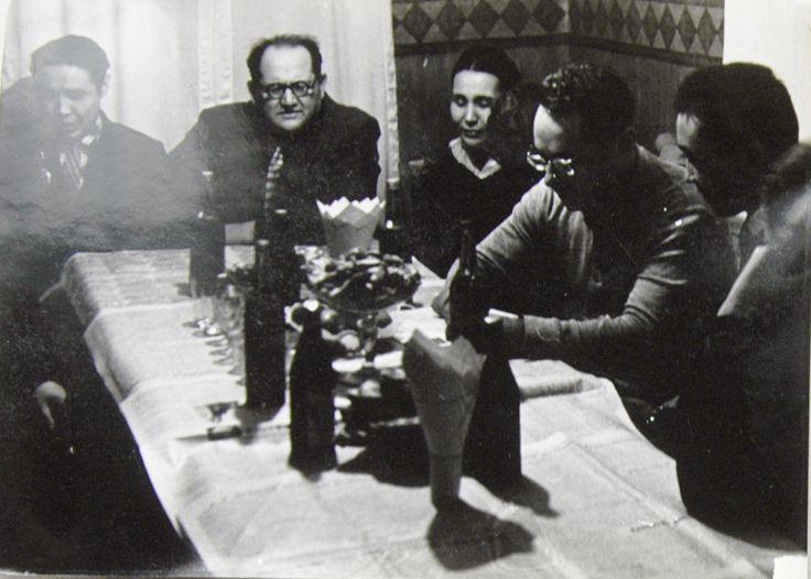 USSR. 1960-1970-ies. Pavlodar. Journalists. ................................................ Die UdSSR. 1960-1970-Ies. Pawlodar. Journalisten.