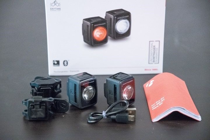 Bontrager Flare Rt Amp Ion 200 Rt Connected Bike Lights In