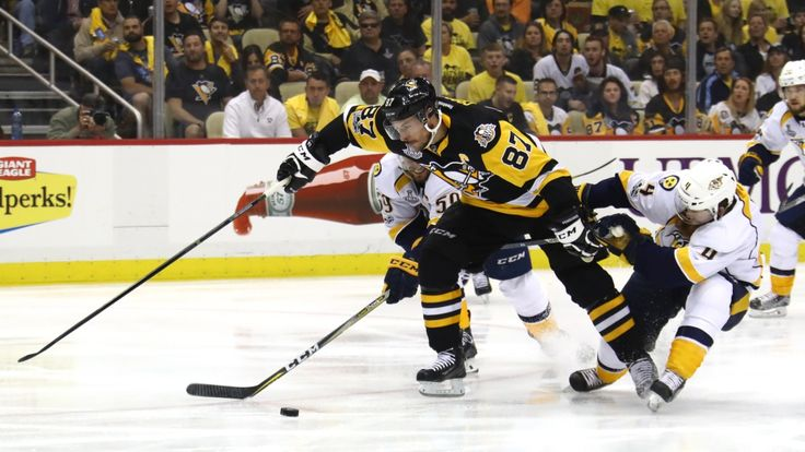 The Canadian Press     Recap Pittsburgh captain sets tone early, finishing night with 3 assists in 6-0 victory over Predators  The Canadian Press Posted: Jun 08, 2017 11:05 PM ET Last Updated: Jun 08, 2017 11:05 PM ET      Matt Murray stopped all 24 shots he faced and Sidney... - #CBC, #Crosby, #Cup, #Leads, #NHL, #Penguins, #Predators, #Repeat, #Rout, #Sports, #Verge, #World_News