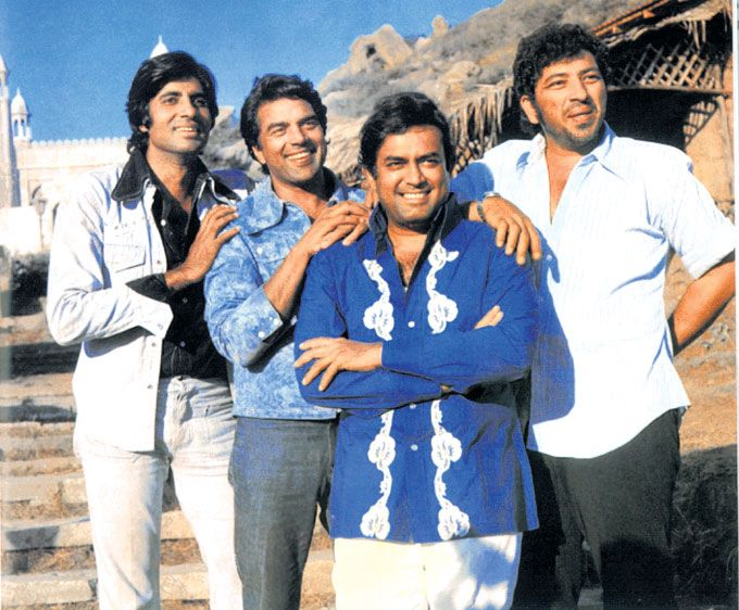 Kumar had this belief that his family was cursed since no male member in his family lived to the age of 50. Cruelly, Kumar himself passed away on November 6, 1985 due to a massive heart attack. In pic: With Amitabh Bachchan, Dharmendra and Amjad Khan on the sets of 'Sholay' : Photos: Sanjeev Kumar - A tribute to the legend