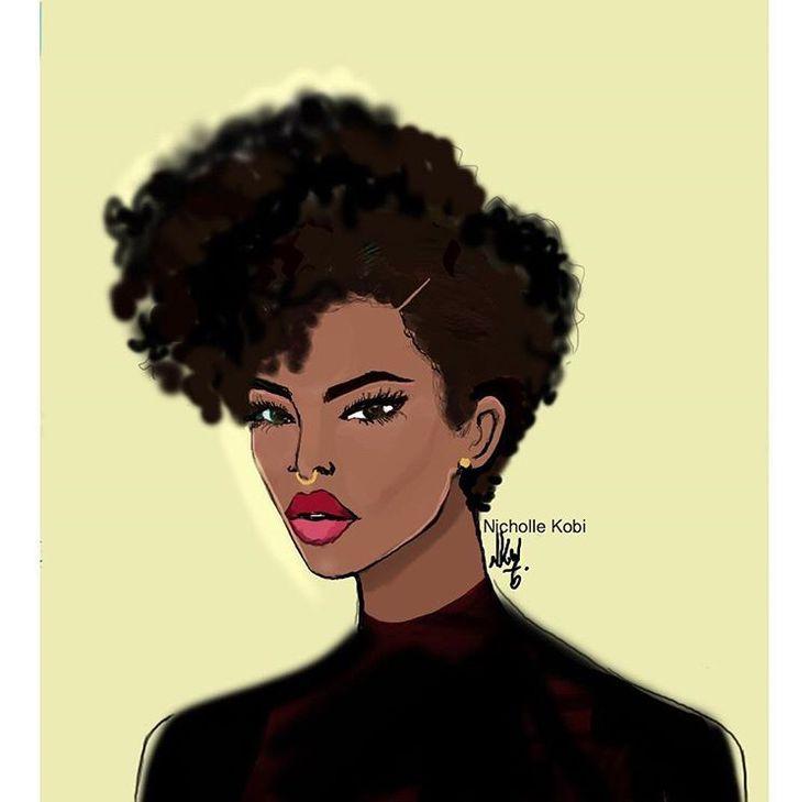natural hair art art i like pinterest afro