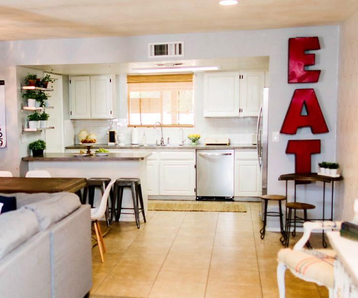 Light and bright kitchen - ClassyClutter.net